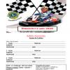Affiche 2020 karting