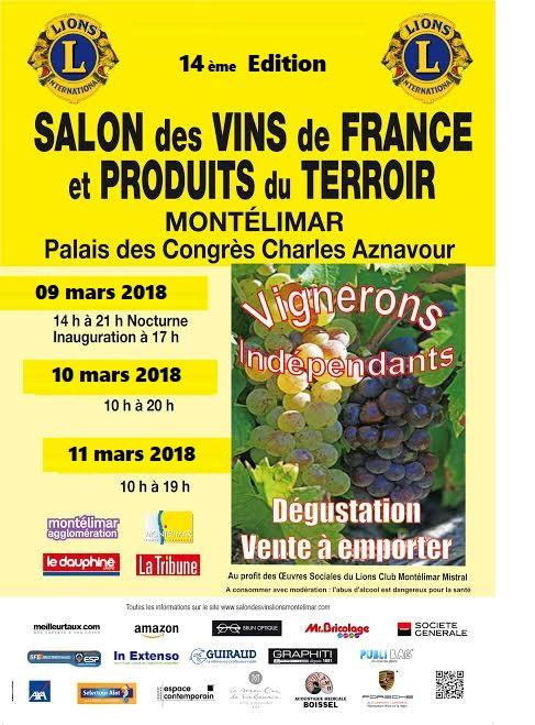 Affiche salon 14 eme edition 2018