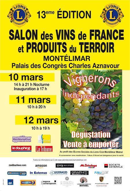 Affiche salon des vins 2017