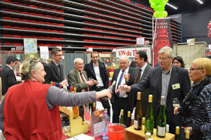 Salon des vins inauguration 300